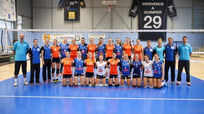 Šternberanky vzdorovaly ve Francii špičkovým týmům západních lig