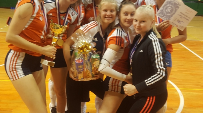 Sokol Šternberk vyhrál v Olomouci Přebor ČOS juniorek 2018