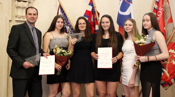 Šternberské kadetky jsou nejlepším sokolským kolektivem roku